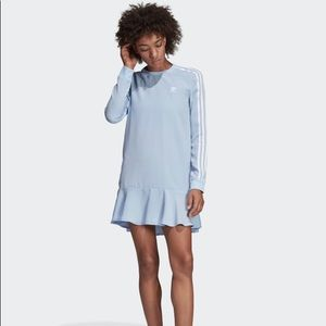 Periwinkle Adidas dress